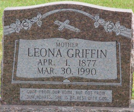 GRIFFIN, LEONA - Lee County, Mississippi   LEONA GRIFFIN - Mississippi Gravestone Photos