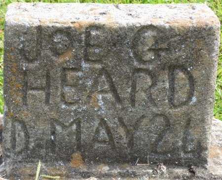 HEARD, JOE G - Lee County, Mississippi | JOE G HEARD - Mississippi Gravestone Photos