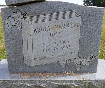 HILL, BRUCE YARNELL - Lee County, Mississippi | BRUCE YARNELL HILL - Mississippi Gravestone Photos