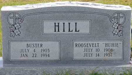 HILL, BUSTER - Lee County, Mississippi   BUSTER HILL - Mississippi Gravestone Photos