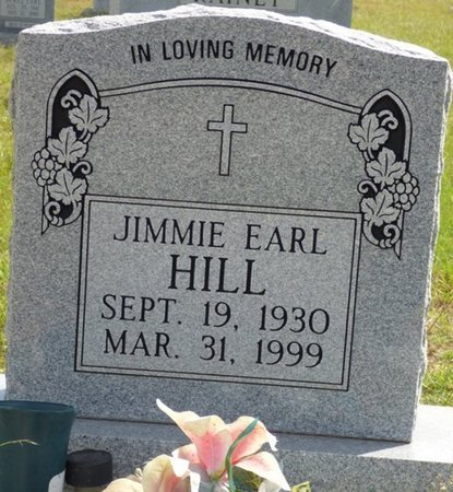 HILL, JIMMIE EARL - Lee County, Mississippi | JIMMIE EARL HILL - Mississippi Gravestone Photos