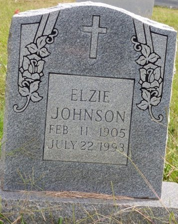 JOHNSON, ELZIE - Lee County, Mississippi | ELZIE JOHNSON - Mississippi Gravestone Photos