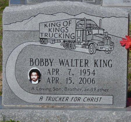 KING, BOBBY WALTER - Lee County, Mississippi | BOBBY WALTER KING - Mississippi Gravestone Photos
