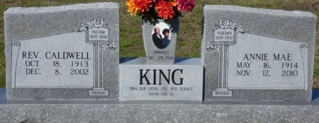 KING, CALDWELL - Lee County, Mississippi | CALDWELL KING - Mississippi Gravestone Photos