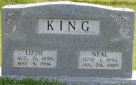 KING, LIZZIE - Lee County, Mississippi | LIZZIE KING - Mississippi Gravestone Photos
