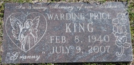 KING, WARDINE - Lee County, Mississippi | WARDINE KING - Mississippi Gravestone Photos