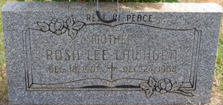 LAWHORN, ROSA LEE - Lee County, Mississippi | ROSA LEE LAWHORN - Mississippi Gravestone Photos