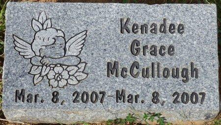 MCCULLOUGH, KENADEE GRACE - Lee County, Mississippi | KENADEE GRACE MCCULLOUGH - Mississippi Gravestone Photos