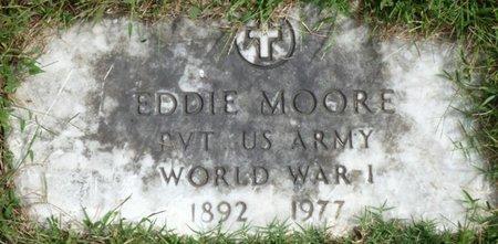 MOORE (VETERAN WWI), EDDIE - Lee County, Mississippi | EDDIE MOORE (VETERAN WWI) - Mississippi Gravestone Photos