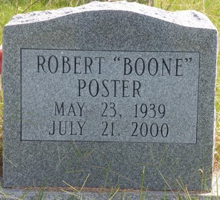 """POSTER, ROBERT """"BOONE"""" - Lee County, Mississippi 