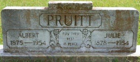 PRUITT, ALBERT - Lee County, Mississippi   ALBERT PRUITT - Mississippi Gravestone Photos