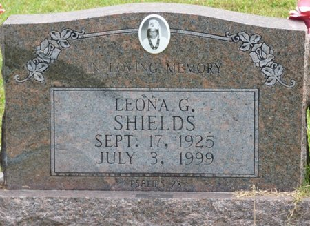 SHIELDS, LEONA - Lee County, Mississippi | LEONA SHIELDS - Mississippi Gravestone Photos