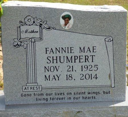 STONE SHUMPERT, FANNIE MAE - Lee County, Mississippi | FANNIE MAE STONE SHUMPERT - Mississippi Gravestone Photos