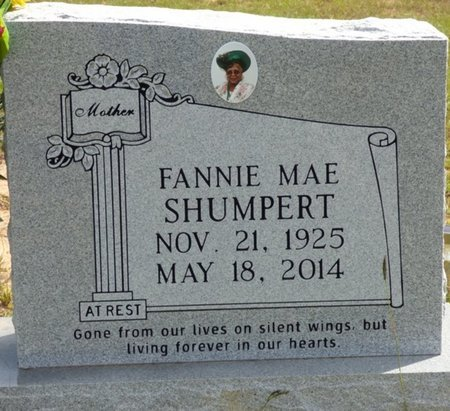 SHUMPERT, FANNIE MAE - Lee County, Mississippi | FANNIE MAE SHUMPERT - Mississippi Gravestone Photos