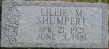 SHUMPERT, LILLIE M - Lee County, Mississippi | LILLIE M SHUMPERT - Mississippi Gravestone Photos