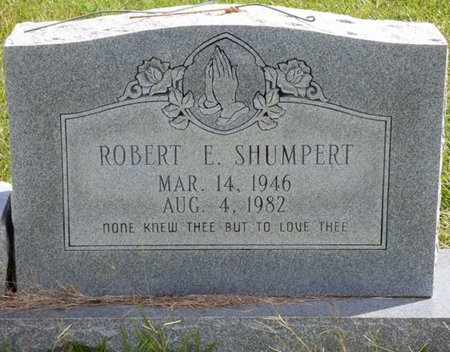 SHUMPERT, ROBERT E - Lee County, Mississippi | ROBERT E SHUMPERT - Mississippi Gravestone Photos