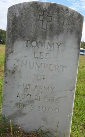 SHUMPERT (VETERAN), TOMMY LEE - Lee County, Mississippi | TOMMY LEE SHUMPERT (VETERAN) - Mississippi Gravestone Photos