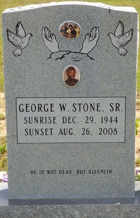STONE SR., GEORGE W - Lee County, Mississippi   GEORGE W STONE SR. - Mississippi Gravestone Photos