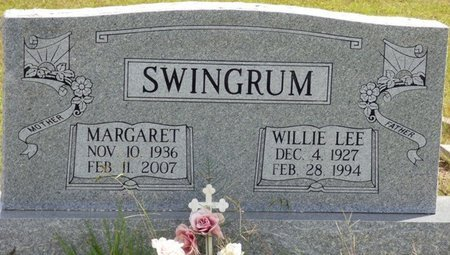 SWINGRUM, WILLIE LEE - Lee County, Mississippi | WILLIE LEE SWINGRUM - Mississippi Gravestone Photos
