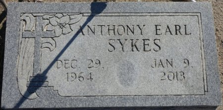 SYKES, ANTHONY EARL - Lee County, Mississippi | ANTHONY EARL SYKES - Mississippi Gravestone Photos