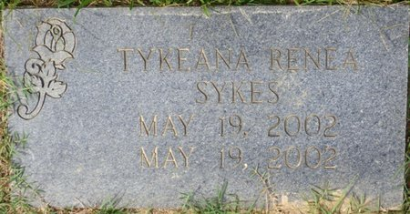 SYKES, TYKEANA RENEA - Lee County, Mississippi | TYKEANA RENEA SYKES - Mississippi Gravestone Photos