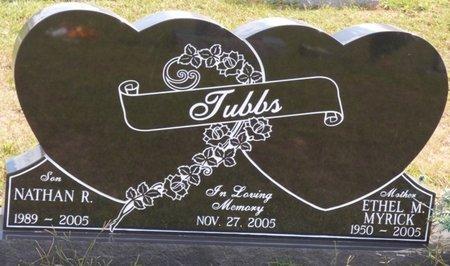 MYRICK TUBBS, ETHEL - Lee County, Mississippi | ETHEL MYRICK TUBBS - Mississippi Gravestone Photos