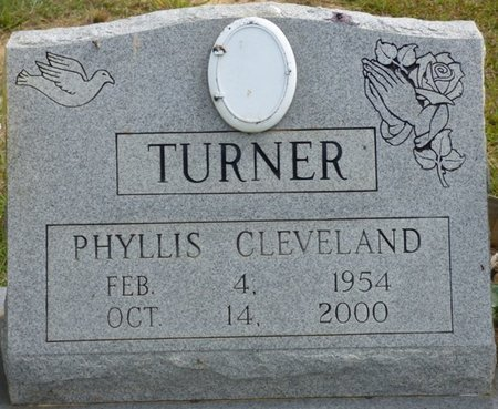 TURNER, PHYLLIS CLEVELAND - Lee County, Mississippi | PHYLLIS CLEVELAND TURNER - Mississippi Gravestone Photos