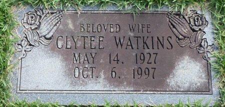 WATKINS, CLYTEE - Lee County, Mississippi   CLYTEE WATKINS - Mississippi Gravestone Photos