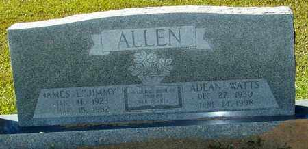 "ALLEN, JAMES L ""JIMMY"" - Marion County, Mississippi | JAMES L ""JIMMY"" ALLEN - Mississippi Gravestone Photos"