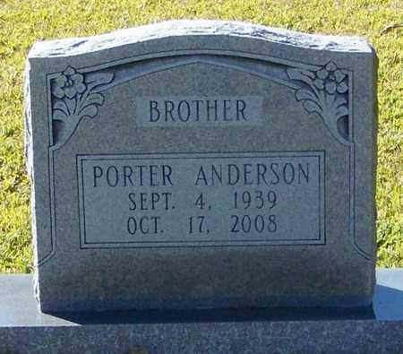 ANDERSON, PORTER - Marion County, Mississippi | PORTER ANDERSON - Mississippi Gravestone Photos