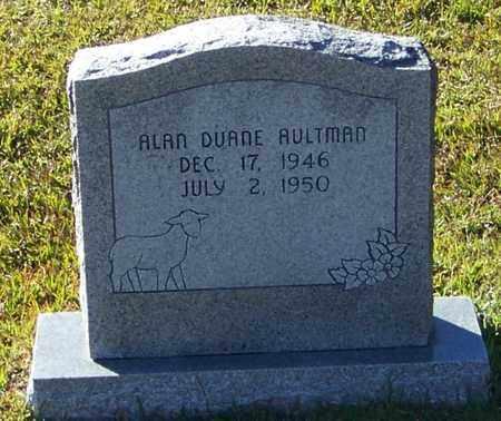 AULTMAN, ALAN DUANE - Marion County, Mississippi | ALAN DUANE AULTMAN - Mississippi Gravestone Photos
