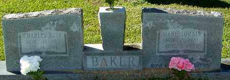 BAKER, MARY LORAIN - Marion County, Mississippi | MARY LORAIN BAKER - Mississippi Gravestone Photos