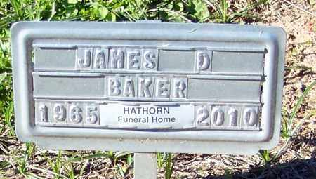 BAKER, JAMES D - Marion County, Mississippi | JAMES D BAKER - Mississippi Gravestone Photos