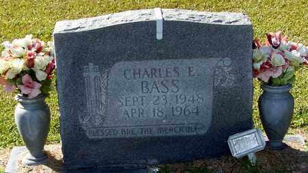 BASS, CHARLES E - Marion County, Mississippi   CHARLES E BASS - Mississippi Gravestone Photos