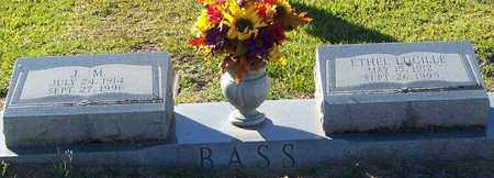 BASS, ETHEL LUCILLE - Marion County, Mississippi | ETHEL LUCILLE BASS - Mississippi Gravestone Photos
