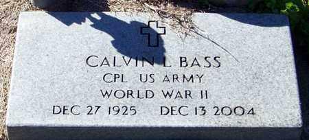 BASS (VETERAN WWII), CALVIN L - Marion County, Mississippi | CALVIN L BASS (VETERAN WWII) - Mississippi Gravestone Photos