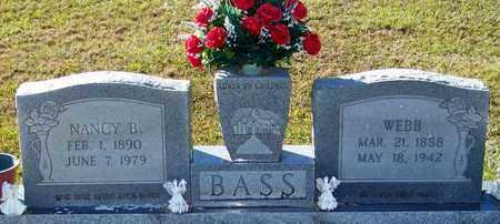BROOM BASS, NANCY B - Marion County, Mississippi | NANCY B BROOM BASS - Mississippi Gravestone Photos