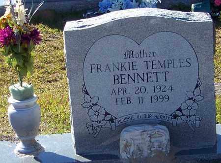 TEMPLES BENNETT, FRANKIE - Marion County, Mississippi | FRANKIE TEMPLES BENNETT - Mississippi Gravestone Photos