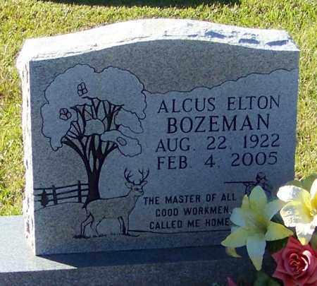 BOZEMAN, ALCUS ELTON - Marion County, Mississippi | ALCUS ELTON BOZEMAN - Mississippi Gravestone Photos