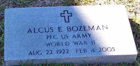 BOZEMAN (VETERAN WWII), ALCUS ELTON - Marion County, Mississippi | ALCUS ELTON BOZEMAN (VETERAN WWII) - Mississippi Gravestone Photos