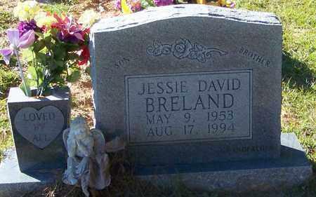 BRELAND, JESSIE DAVID - Marion County, Mississippi | JESSIE DAVID BRELAND - Mississippi Gravestone Photos