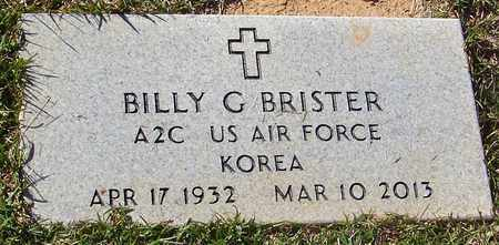 BRISTER (VETERAN KOR), BILLY GENE - Marion County, Mississippi | BILLY GENE BRISTER (VETERAN KOR) - Mississippi Gravestone Photos