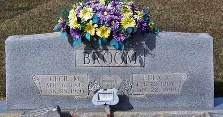 BROOM, CECIL M - Marion County, Mississippi | CECIL M BROOM - Mississippi Gravestone Photos