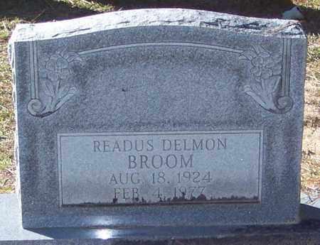 BROOM, READUS DELMON - Marion County, Mississippi | READUS DELMON BROOM - Mississippi Gravestone Photos