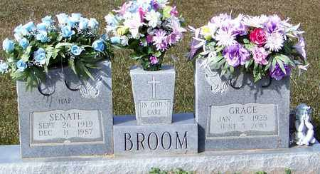 BROOM, SENATE - Marion County, Mississippi | SENATE BROOM - Mississippi Gravestone Photos