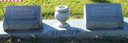 BROOM, THEODORE - Marion County, Mississippi | THEODORE BROOM - Mississippi Gravestone Photos