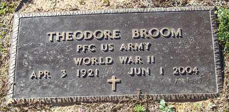 BROOM (VETERAN WWII), THEODORE - Marion County, Mississippi | THEODORE BROOM (VETERAN WWII) - Mississippi Gravestone Photos