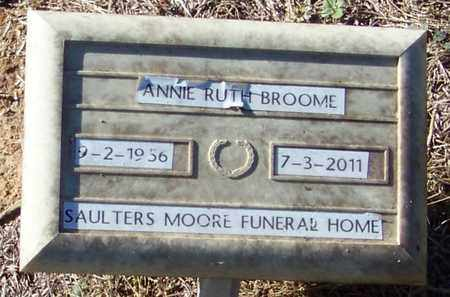 BROOME, ANNIE RUTH - Marion County, Mississippi | ANNIE RUTH BROOME - Mississippi Gravestone Photos