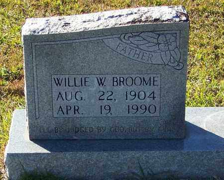 BROOME, WILLIE W - Marion County, Mississippi | WILLIE W BROOME - Mississippi Gravestone Photos