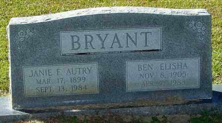 BRYANT, JANIE F - Marion County, Mississippi | JANIE F BRYANT - Mississippi Gravestone Photos